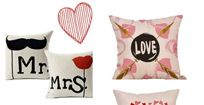 Valentine's Day Pillow Covers to Fall in Love With!