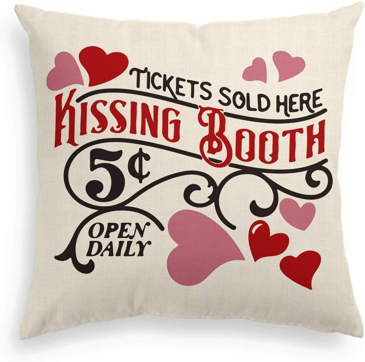 Valentine's Day Pillow Covers
