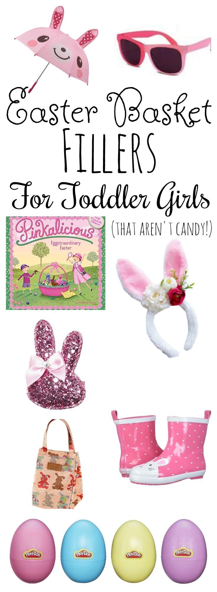 Non-Candy Easter Basket Filler Ideas for Toddler Girls