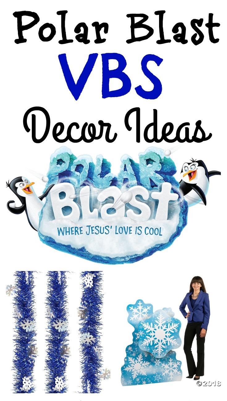 Polar Blast VBS Decor