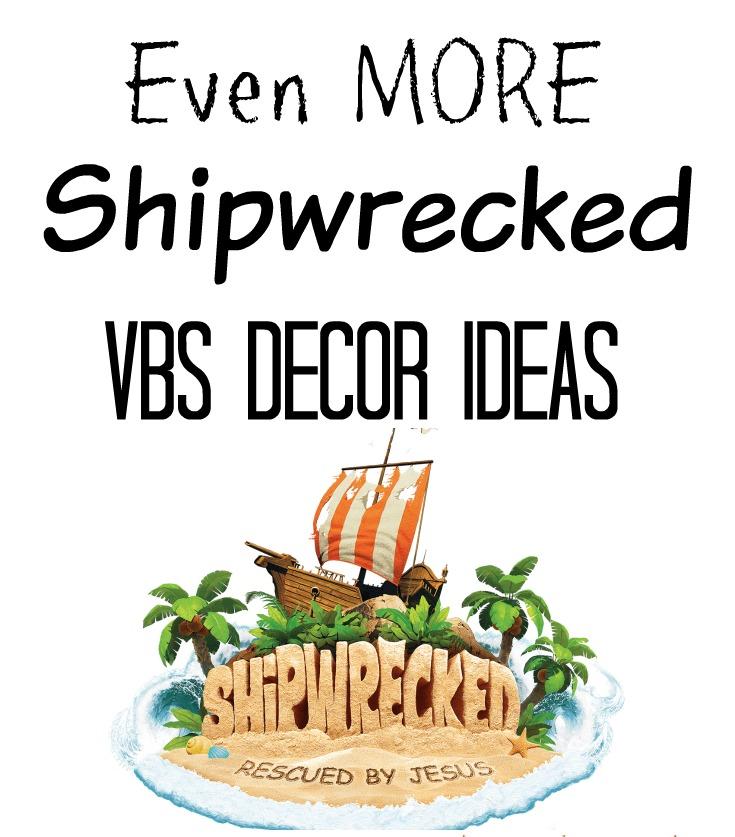 Shipwrecked VBS Decor Ideas