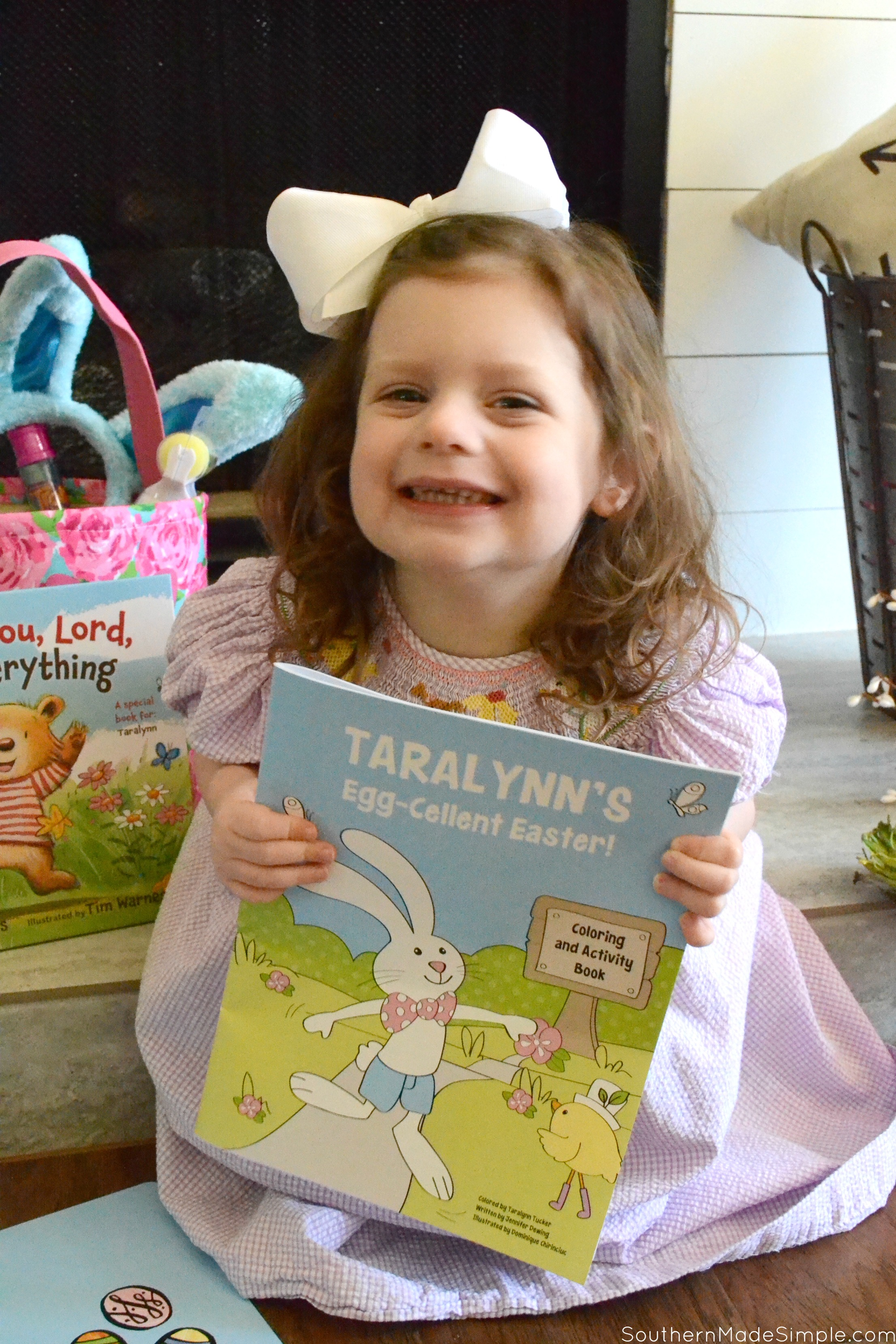 The Perfect Personalized Easter Basket Filler - I See Me Books Review