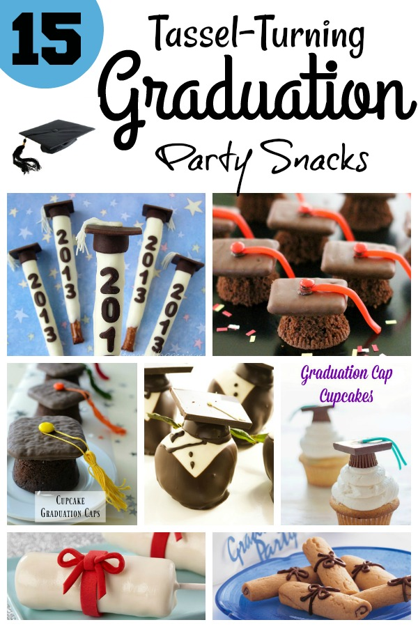 15 Graduation Party Snack Ideas