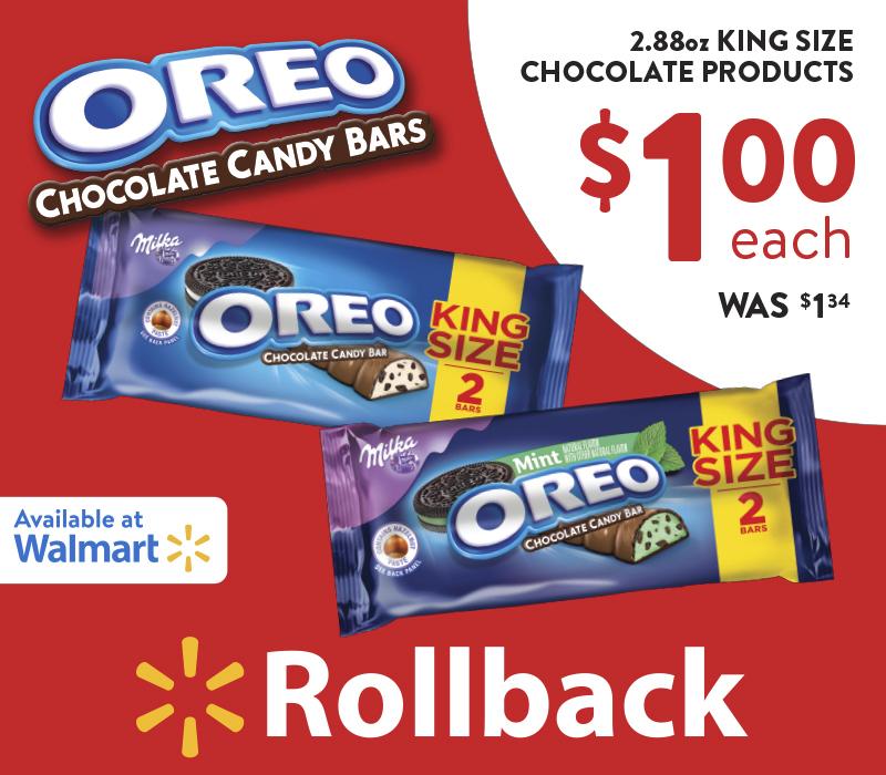 The Simple Joys of Sharing Chocolate and a Smile #OREOChocolate #KingSizeRollback #Walmart #IC #ad