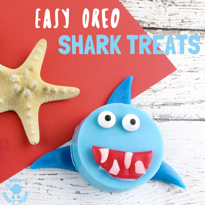 Jaw-fully Sweet Treats to Bite Into during Shark Week!