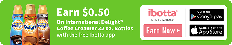 International Delight Ibotta Offer