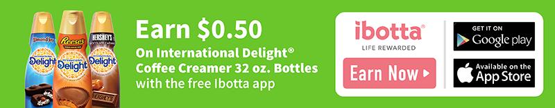 International Delight Ibotta Offer
