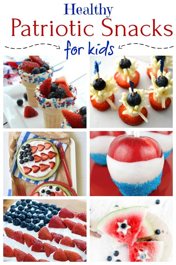 Healthy Patriotic Snacks for Kids