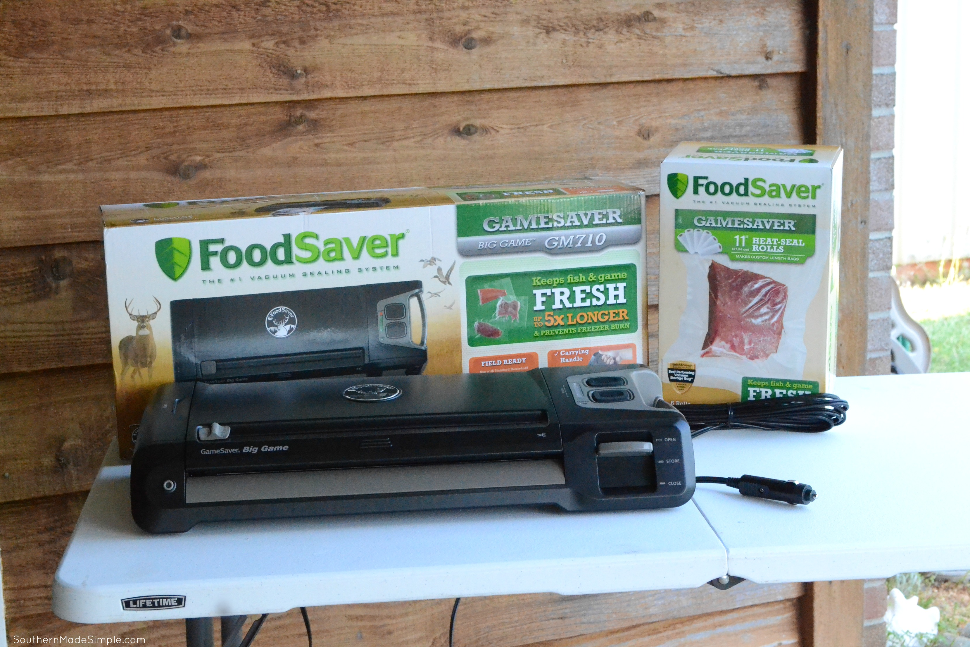 Preserving Special Moments for Father's Day with FoodSaver® GameSaver® #PreserveTheMoment #ad