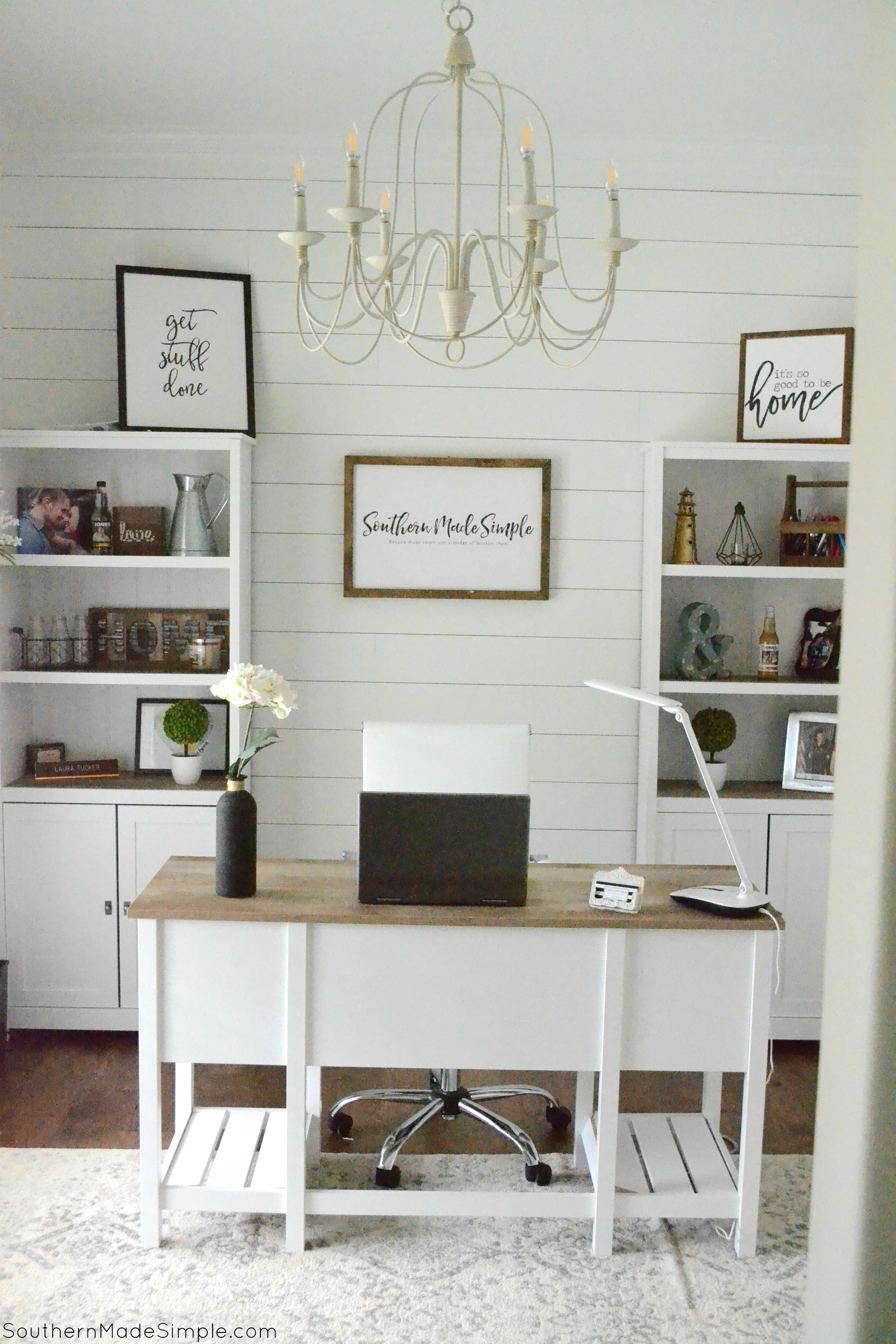 Our Farmhouse Office Reveal