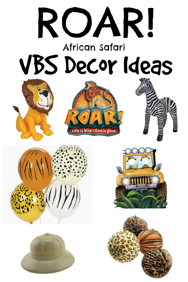 Roar! VBS Decor Ideas - Southern Made Simple