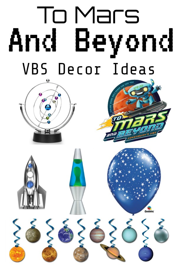 To Mars and Beyond VBS Decor Ideas