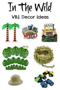 In The Wild VBS Decor Ideas