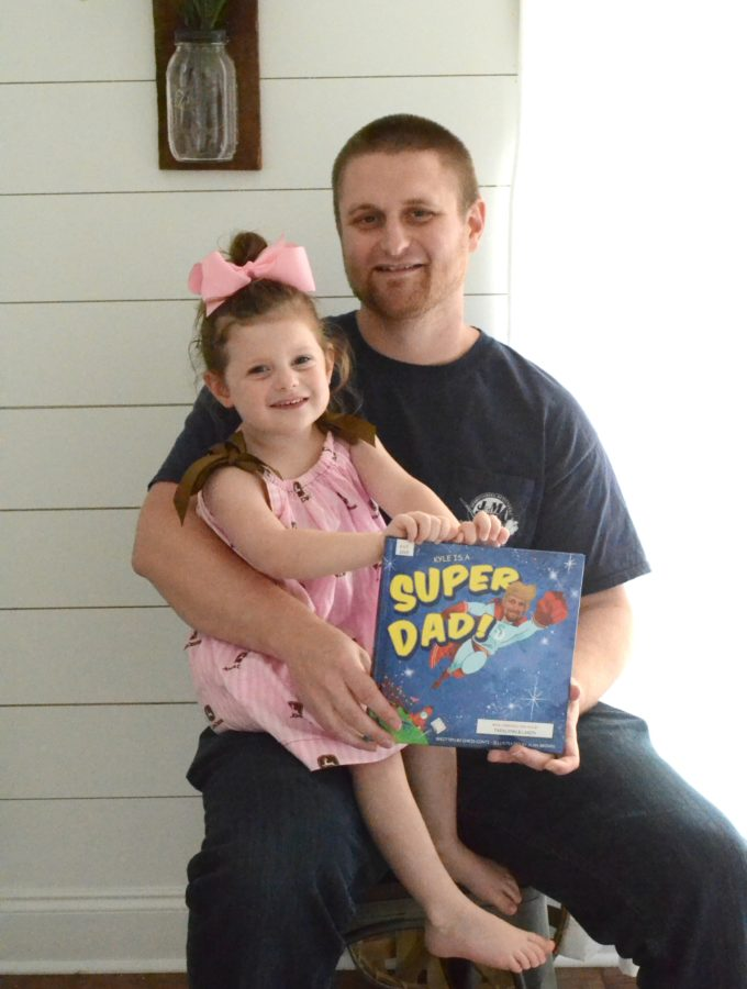 A Father's Day Gift We'll Always Cherish - Super Dad from I See Me! Personalized Children's Books