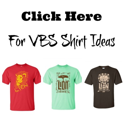 Roar VBS Shirts