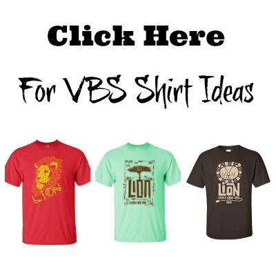 Roar VBS Shirts