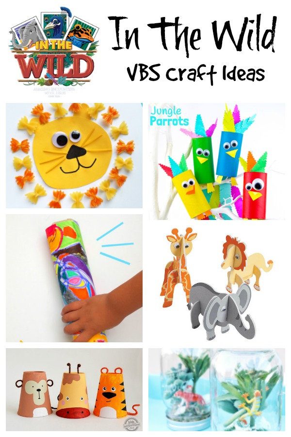In The Wild Vbs Craft Ideas Southern Made Simple