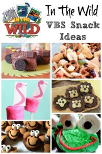 In The Wild VBS Snack Ideas