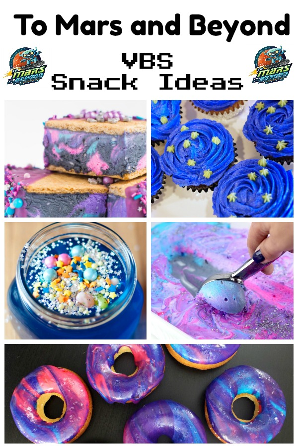 To Mars and Beyond VBS Snack Ideas - Southern Made Simple