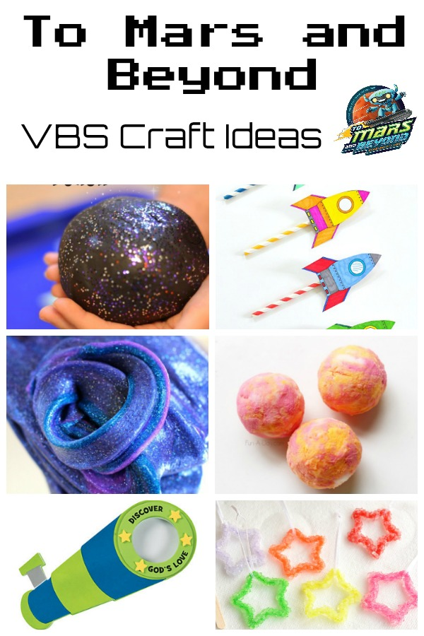 To Mars and Beyond Craft Ideas - Southern Made Simple