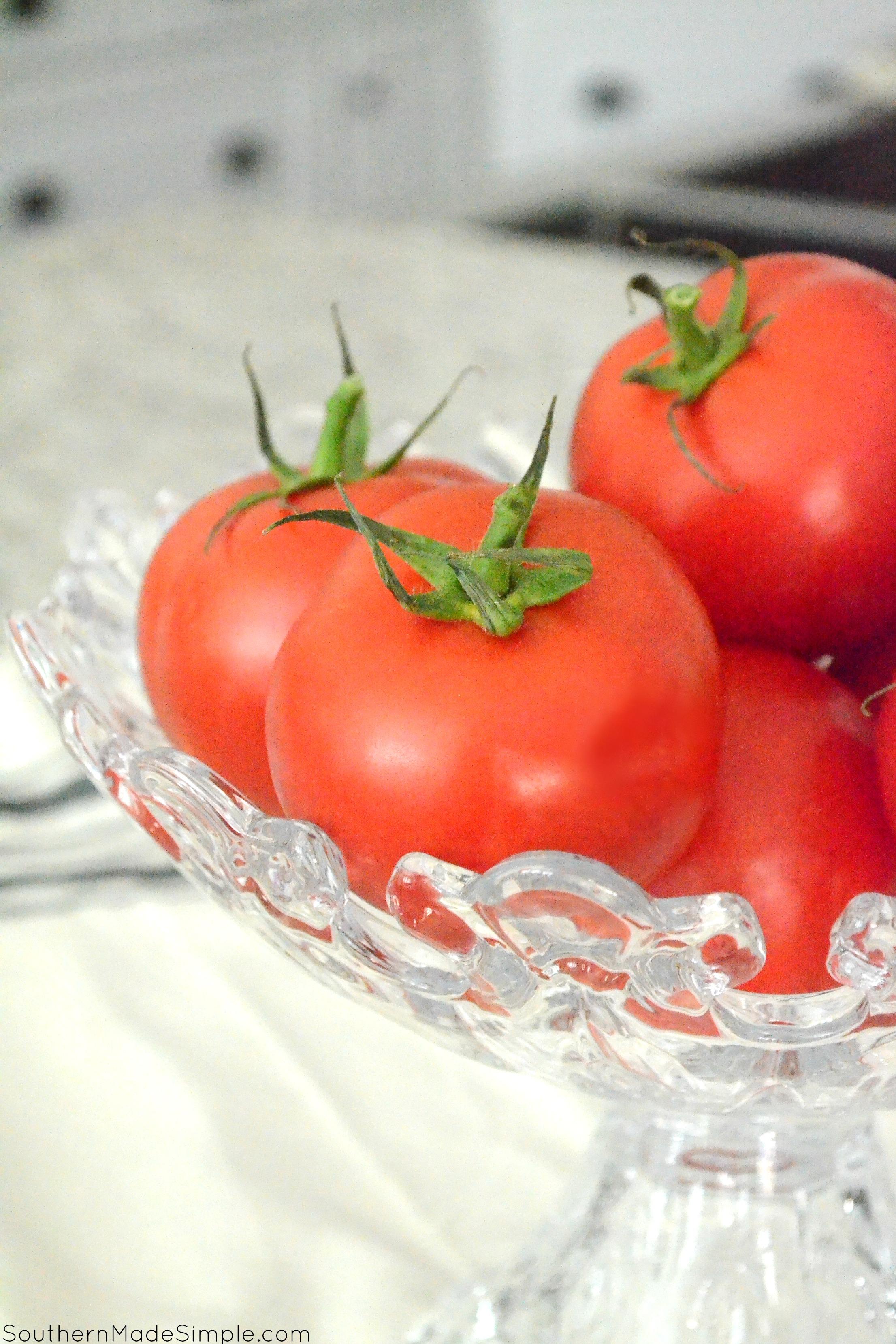 Broccoli & Cheddar Stuffed Tomatoes #VeggieSwapIns #IC #ad