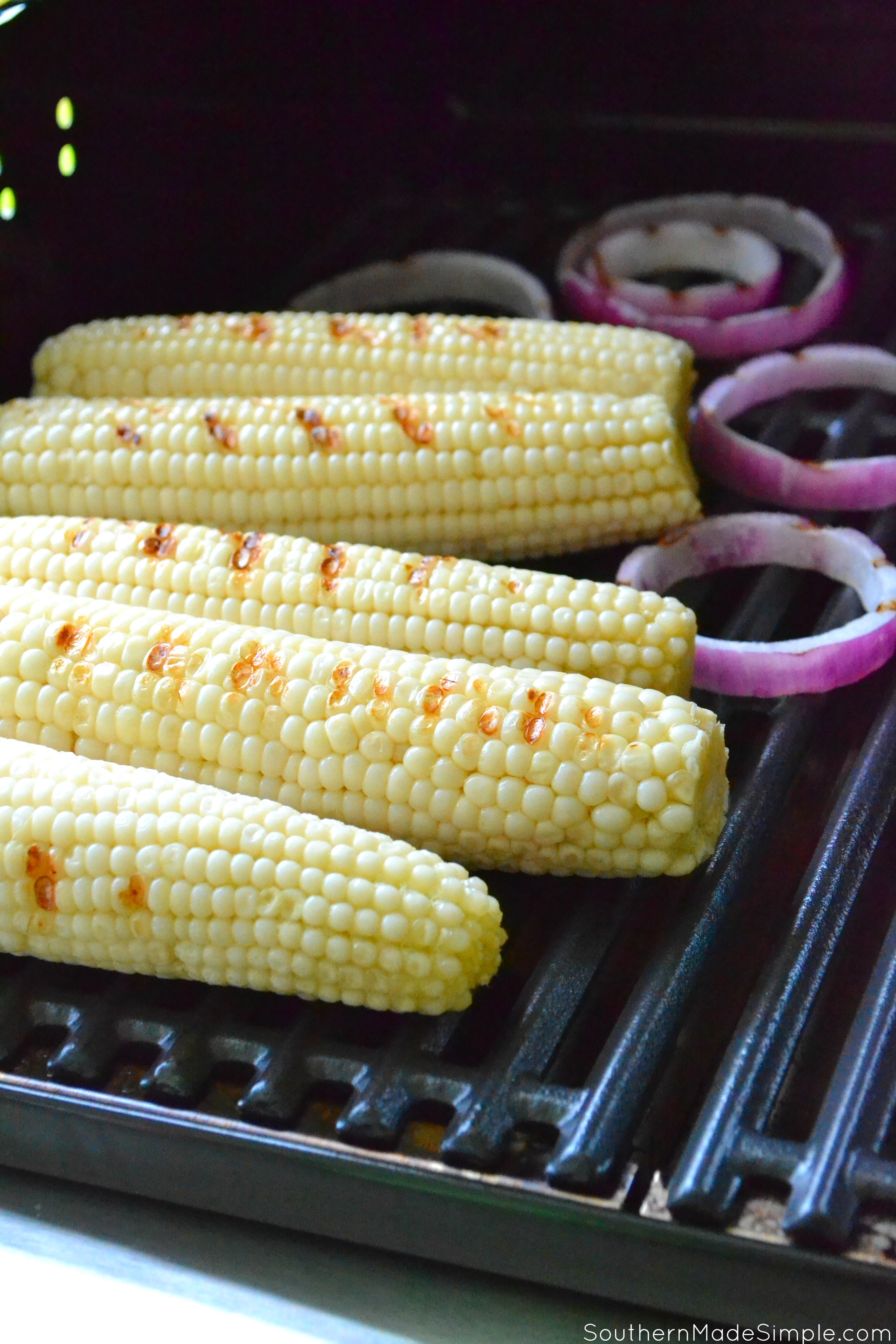 Spicy Grilled Mexican Street Corn #KickOffWithGreatTaste #ad