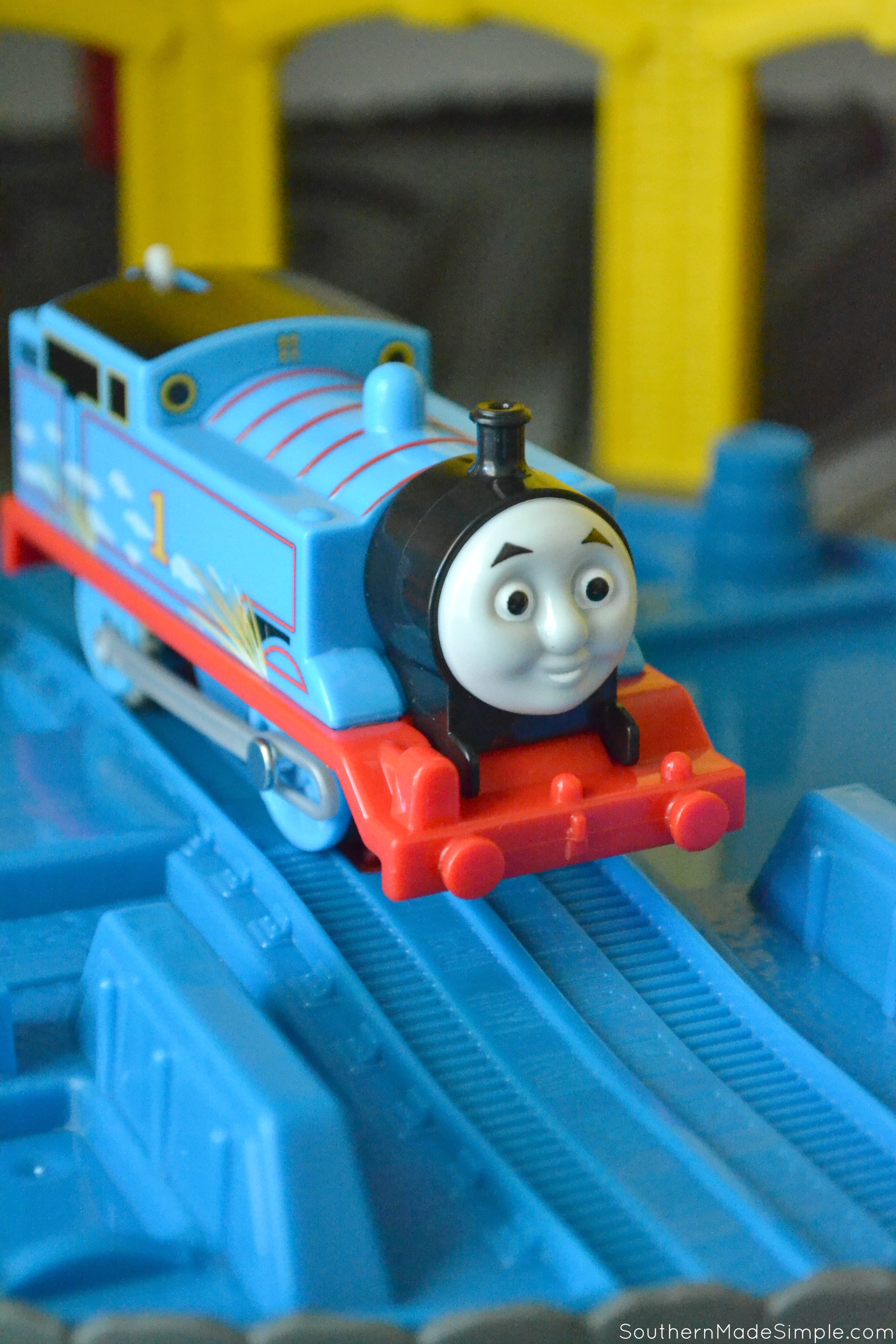 Meet tuckervilles tiniest conductor at the thomas friends super many of her playmates have already arrived at the station including her beloved thomas the train and a few of his longtime buddies she greets each engine m4hsunfo