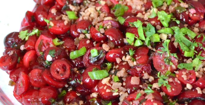 Cranberry Jalapeno Christmas Dip