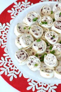 Cranberry Cream Cheese Pinwheels