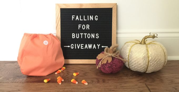 Falling for Buttons Diapers GIVEAWAY!
