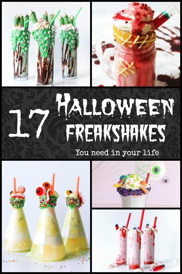 Halloween Freakshakes