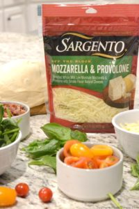 BLT Pizza with Sargento Shreds