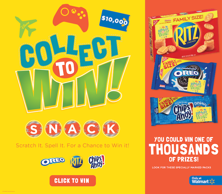 Stack your Snacks and Collect to Win! + Sweepstakes