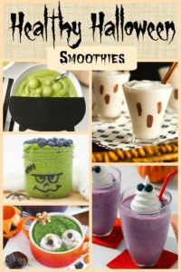 Healthy Halloween Smoothies