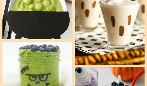 Healthy Halloween Smoothie Recipes