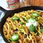 Cheesy Pumpkin & Chicken Enchilada Bake