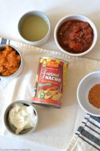 Cheesy Pumpkin & Chicken Enchilada Bake