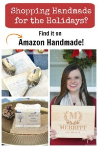 Shopping Handmade for the Holidays? Find it on Amazon Handmade!