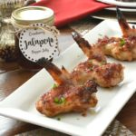 Cranberry Pepper Jelly Sticky Wings