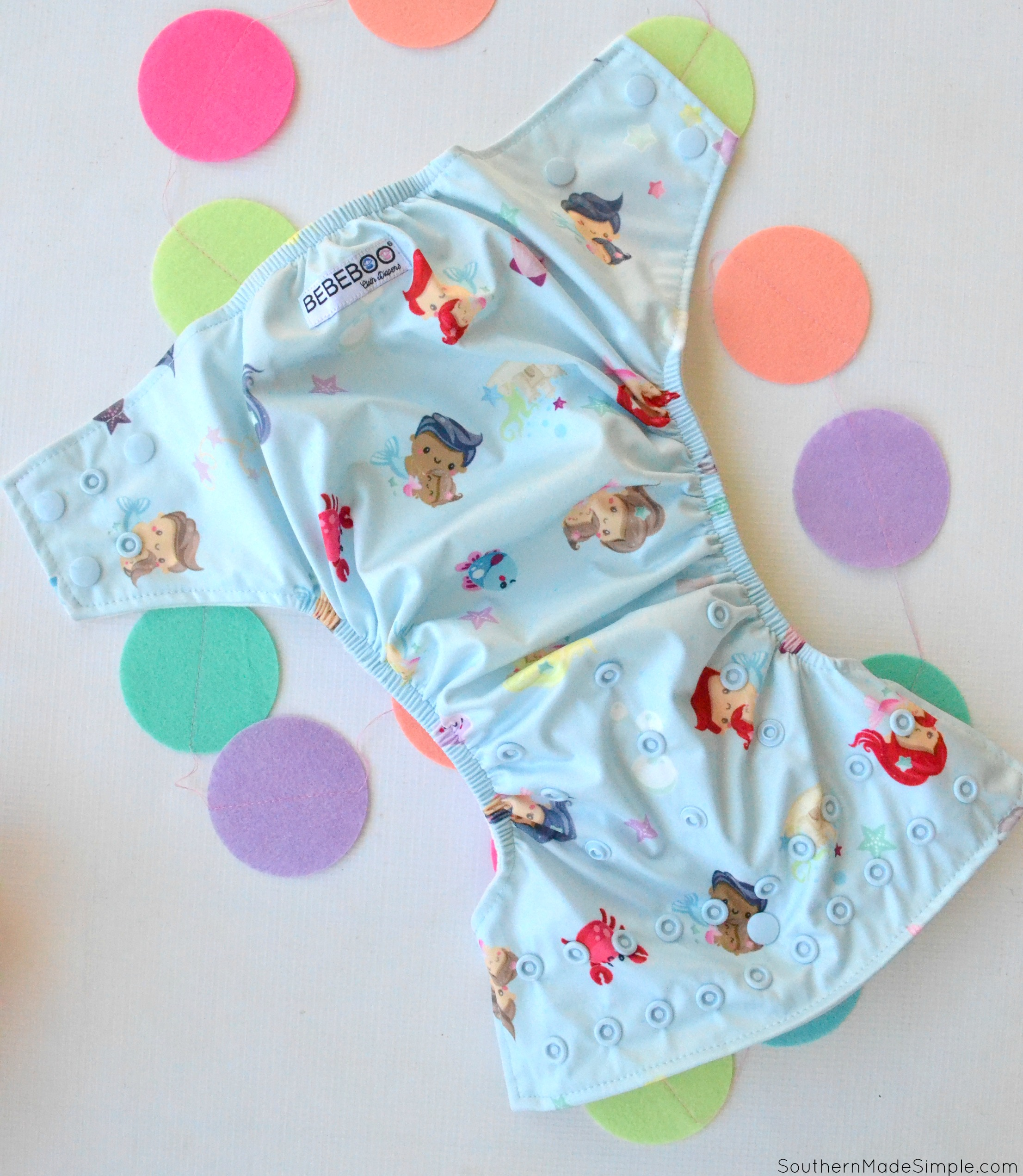 BeBeBoo Cloth Diaper Review
