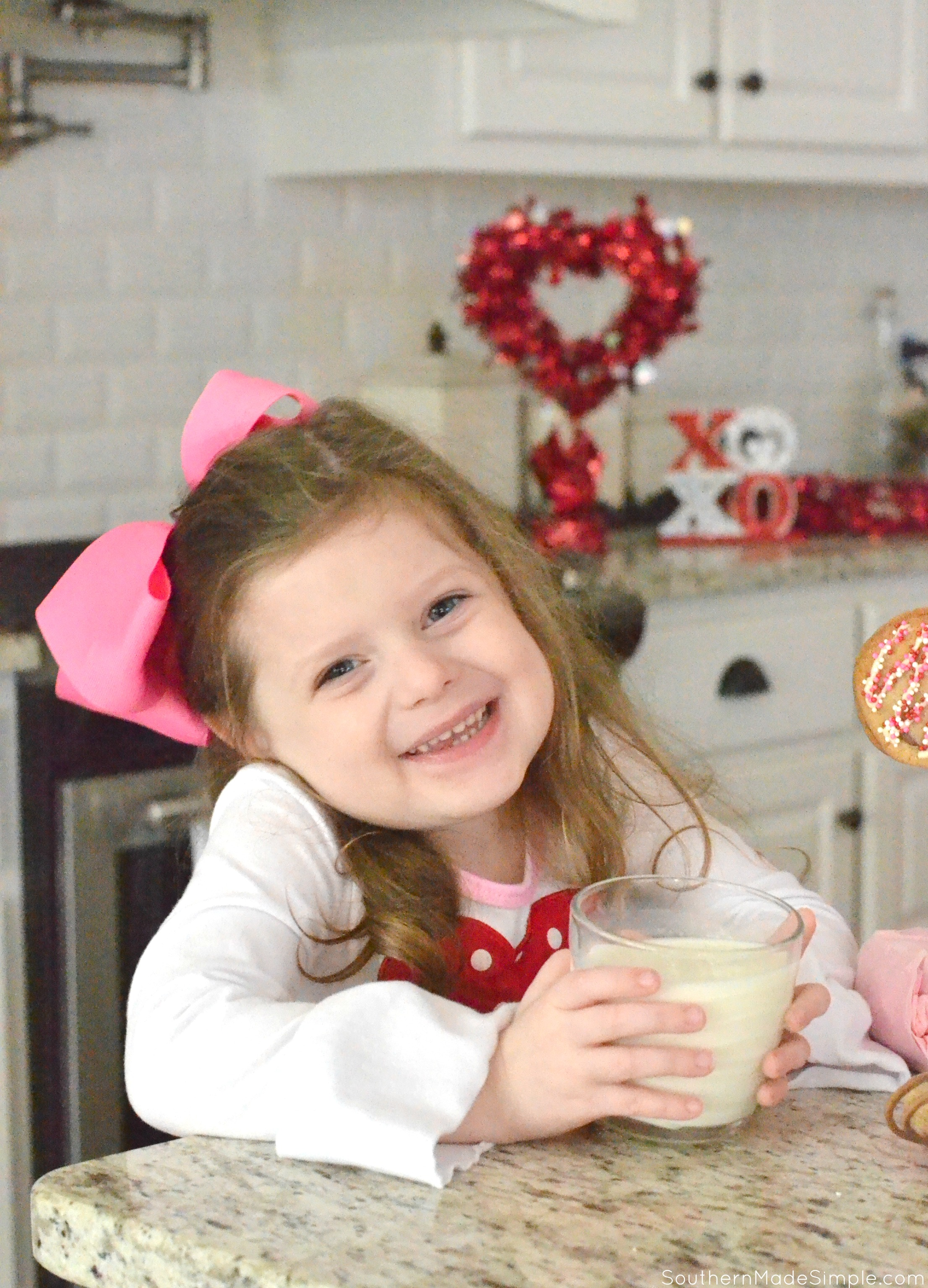We Go Together Like Milk & Cookies - DIY Chocolate Chip Cookie Pops