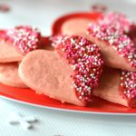 Simple Valentine's Day Sugar Cookies
