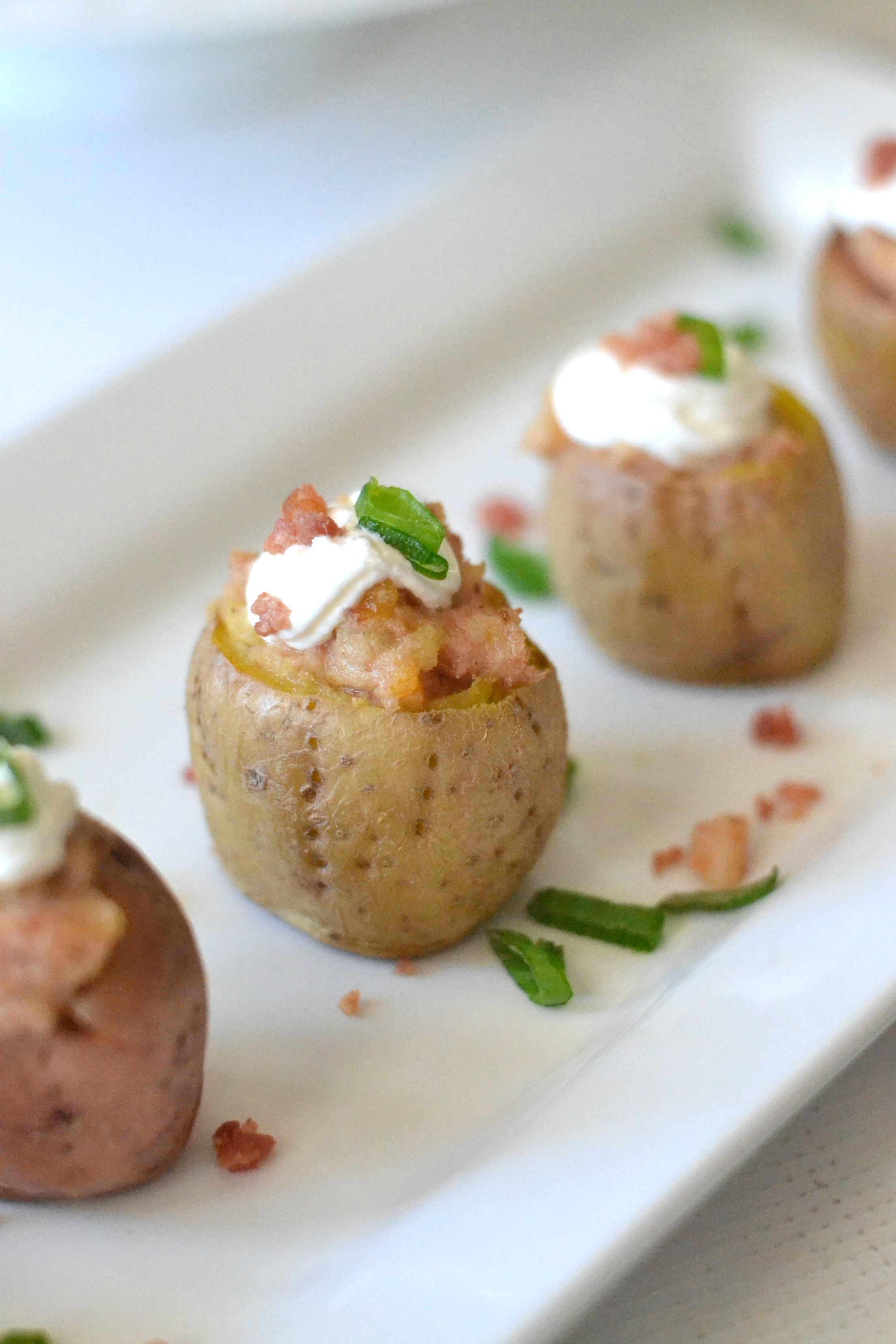 Irish Twice Baked Potato Bites