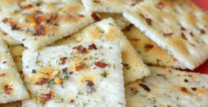 Spicy Saltine Fire Crackers