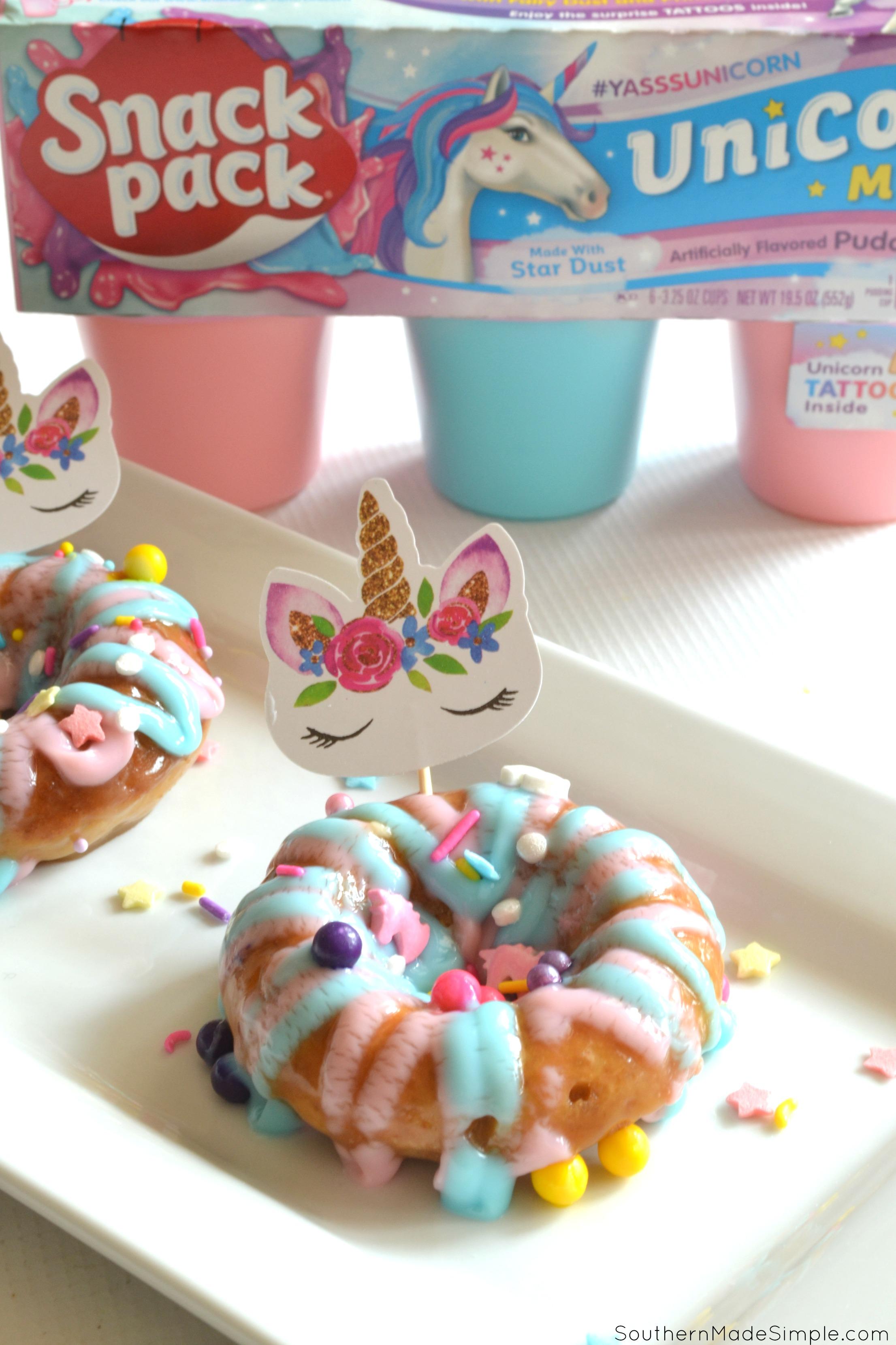 Enchanted Unicorn Doughnuts