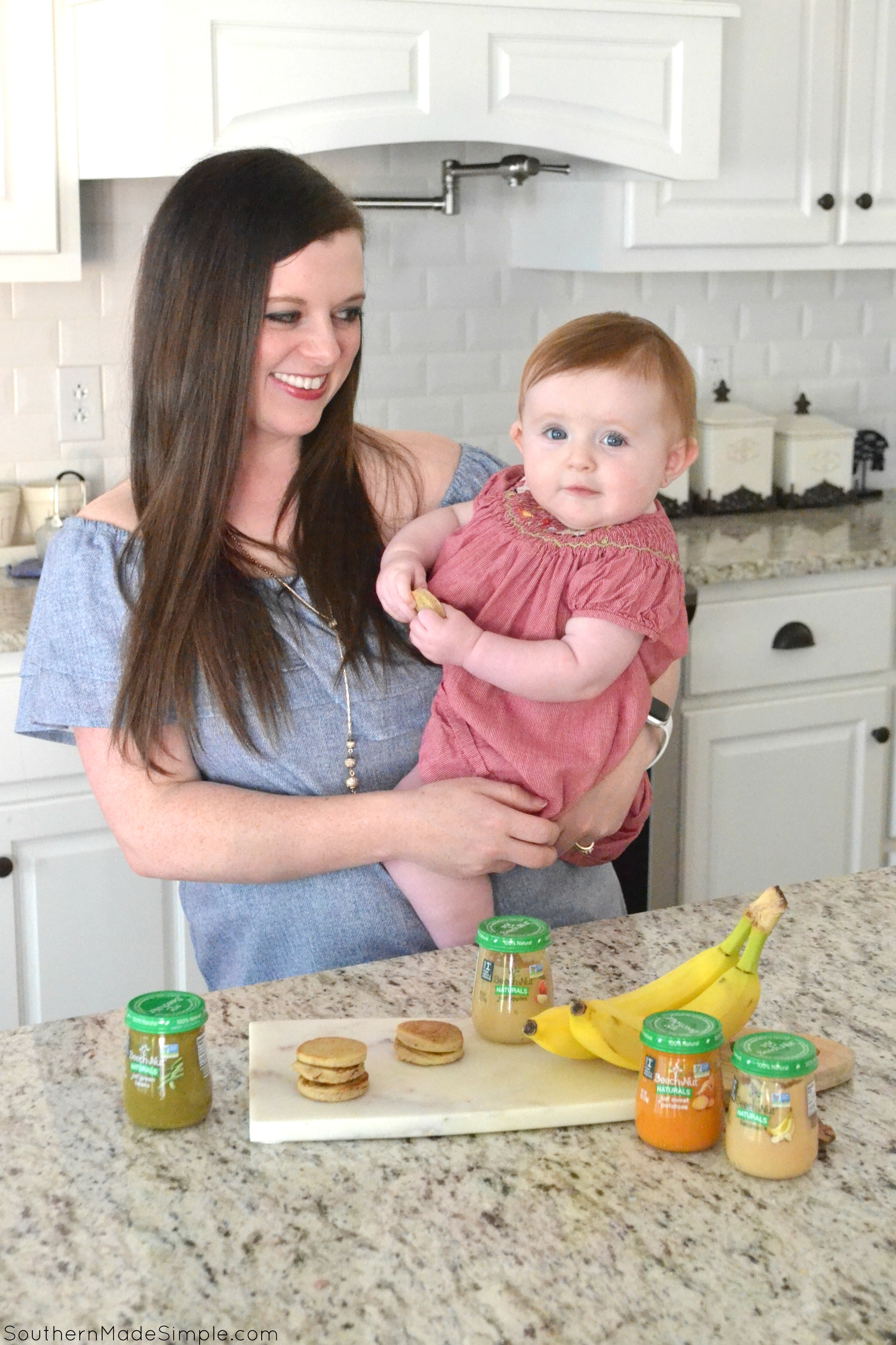 Banana Pancakes - A Perfect Baby Finger Food