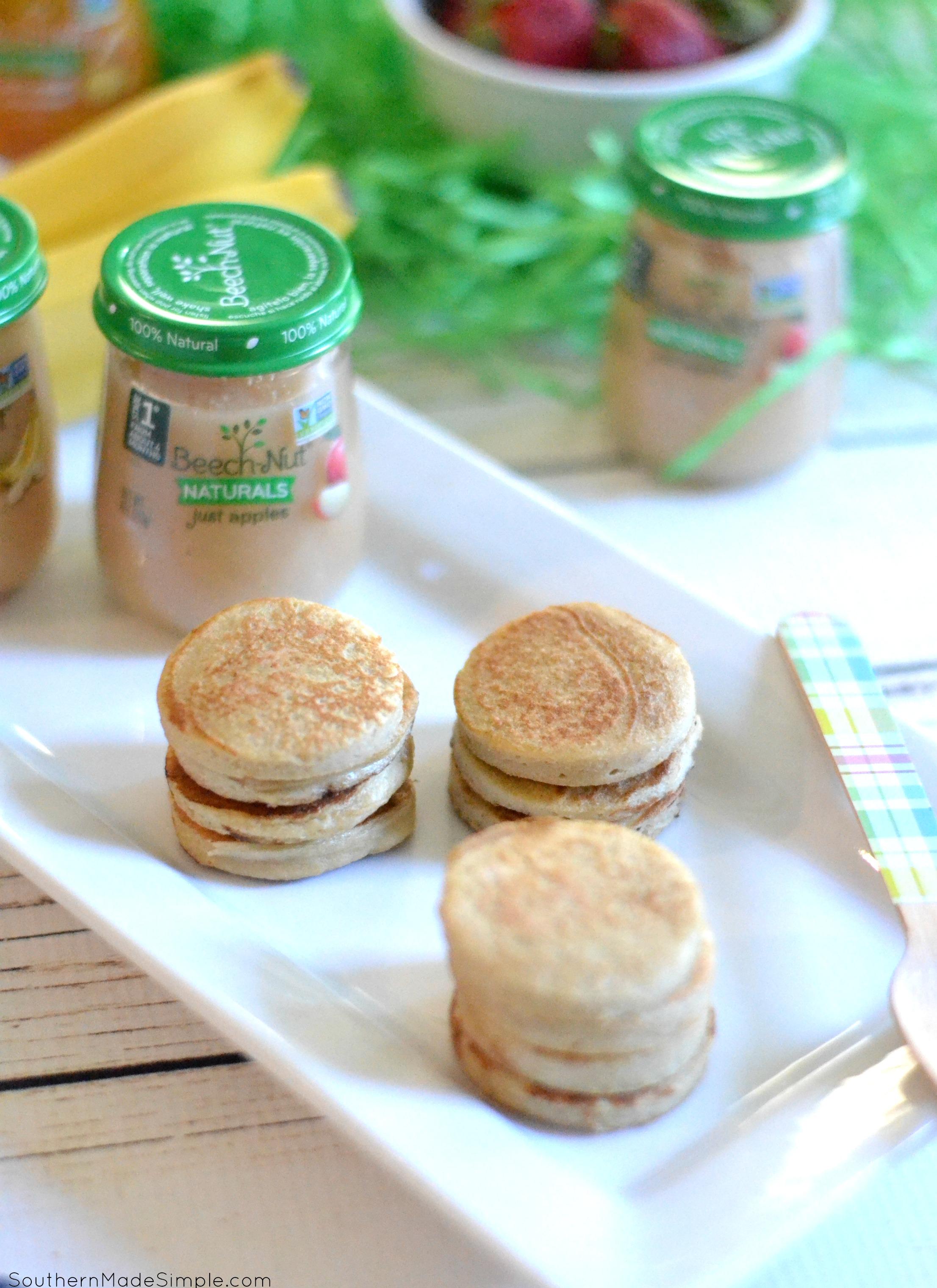 Banana Pancakes - A Perfect Baby Finger Food