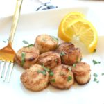 Cajun Seared Scallops