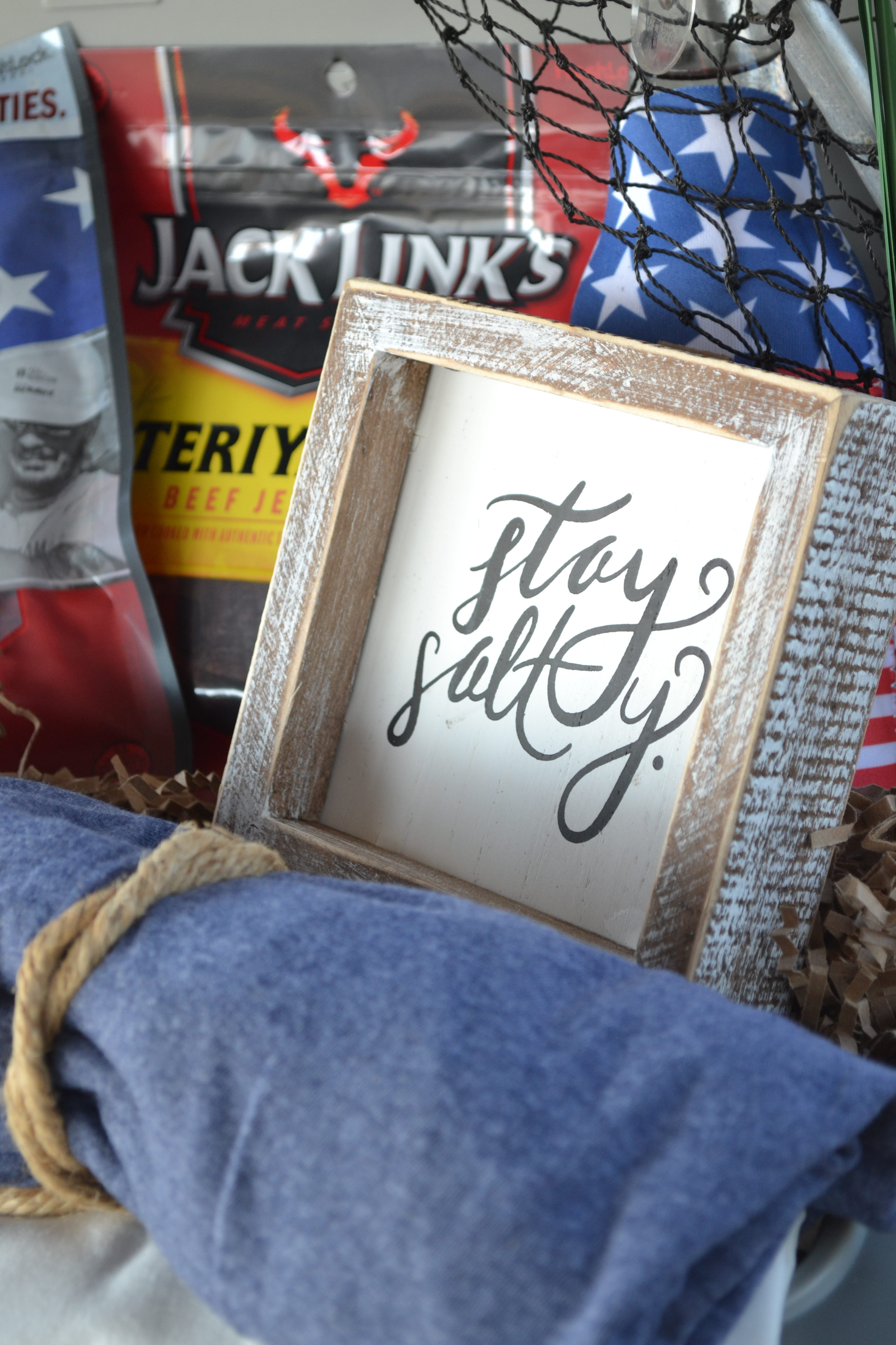 Father's Day Gift Basket for Fishermen