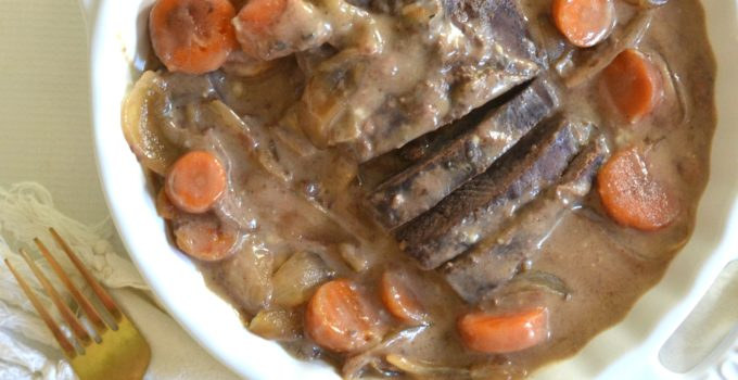 Slow Cooker Venison Pot Roast